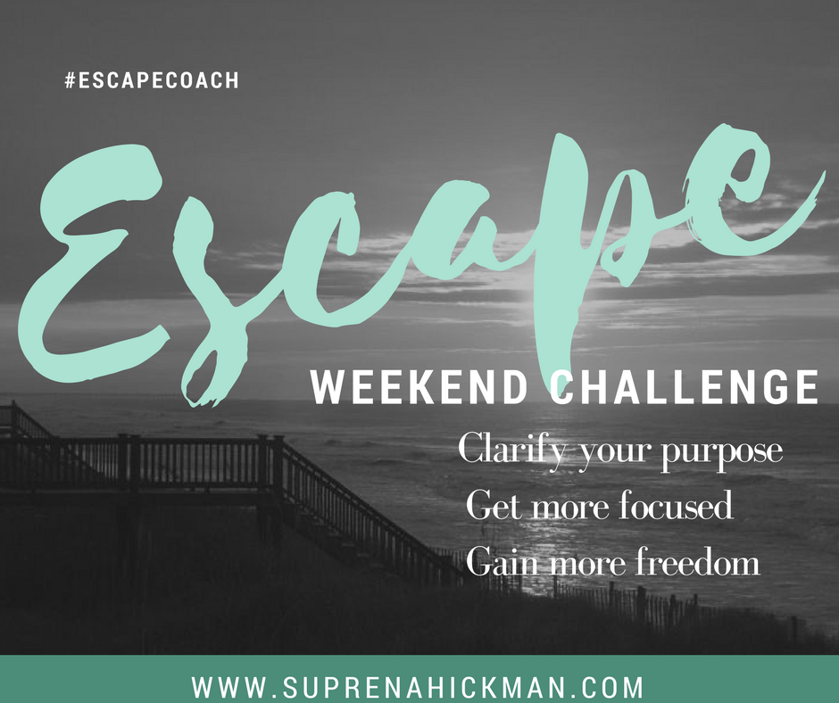 Escape Weekend Challenge